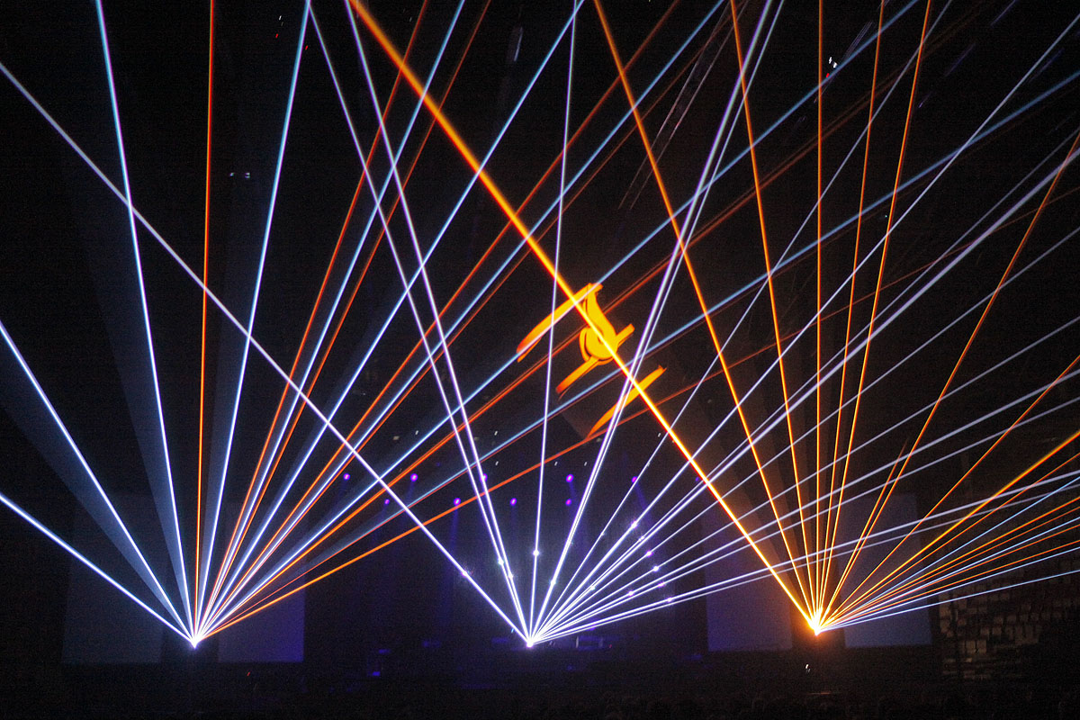 laser show show realization service screenrental specialist