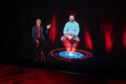 First Holographic 5G video call, Vodafone