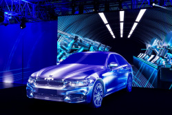 Videomapping New BMW 5