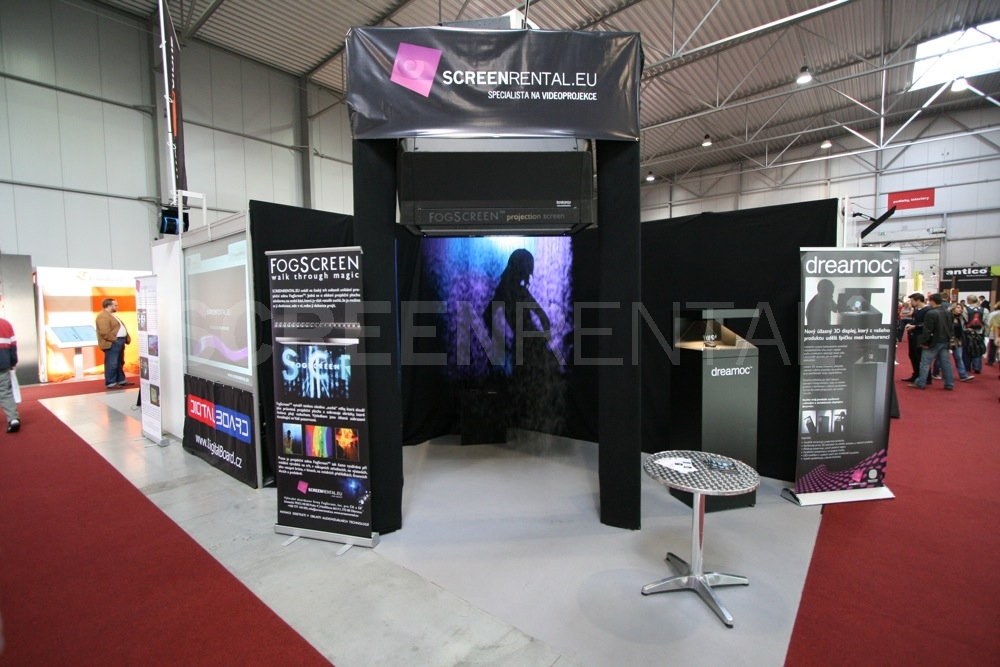 Exhibition Booth Signage : Screenrental at for digital signage exhibition references